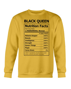 Black Queen Facts Shirt