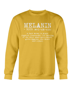 Definition Of Melanin Sweatshirt