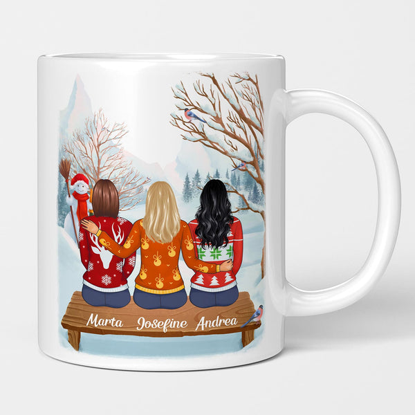 Freundinnen Winter Tasse