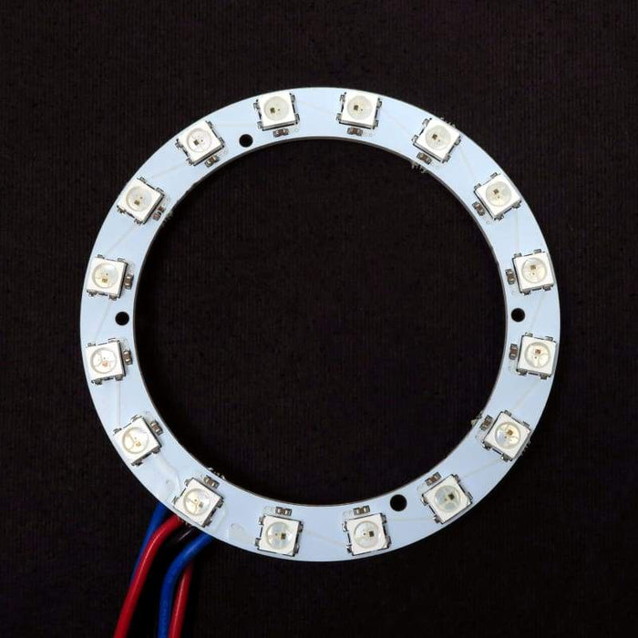 16 LED 72mm Ring - WS2812B 5050 RGB LED with Integrated Drivers (Adafruit Neopixel compatible) - LEDs