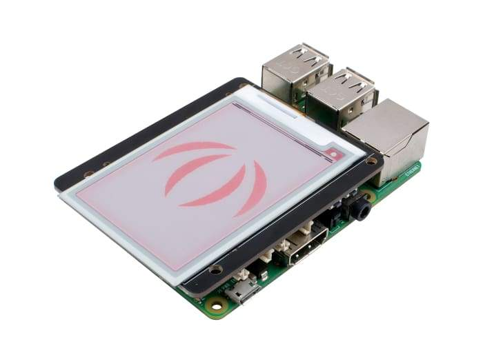 2.7 Triple-Colour E-Ink Display for Raspberry Pi - Raspberry Pi
