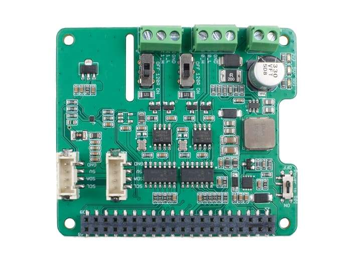 2-Channel CAN-BUS(FD) Shield for Raspberry Pi - Raspberry Pi