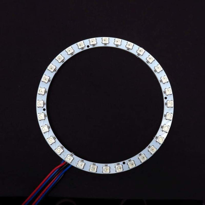 32 LED 112mm Ring - WS2812B 5050 RGB LED with Integrated Drivers (Adafruit Neopixel compatible) - LEDs