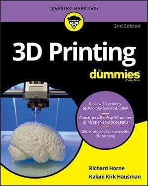 3D Printing For Dummies 2Nd Edition - Books