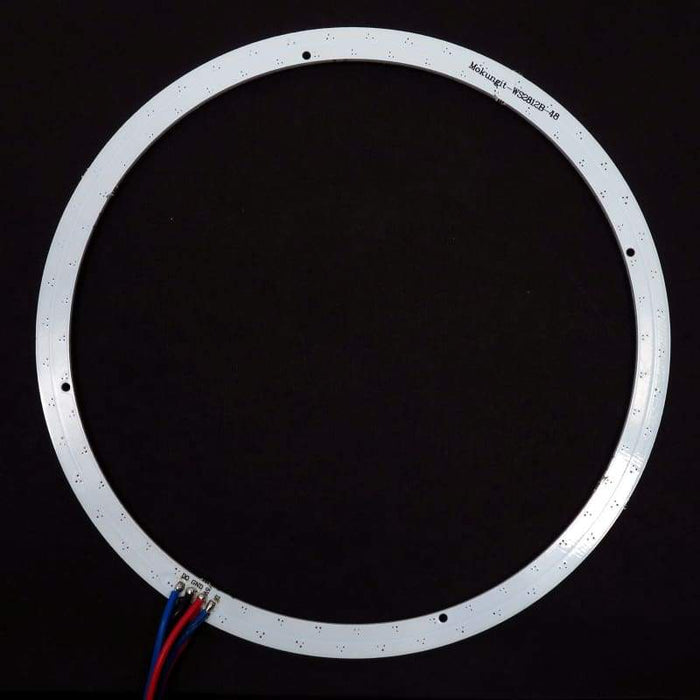 48 LED 152mm Ring - WS2812B 5050 RGB LED with Integrated Drivers (Adafruit Neopixel compatible) - LEDs