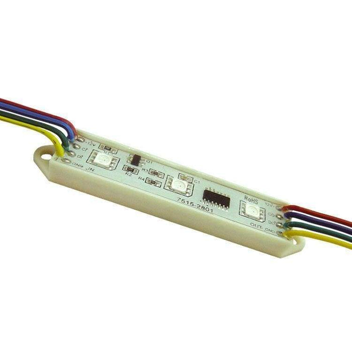 75Mm Led Bars - 12V Digital Rgb Led Pixels (Strand Of 20) - Ws2801 Ic - Leds