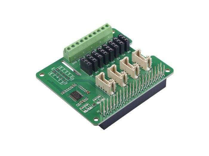 8-Channel 12-Bit ADC for Raspberry Pi (STM32F030) - Raspberry Pi
