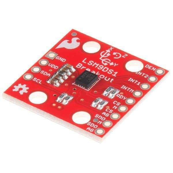 9 Degrees Of Freedom Imu Breakout - Lsm9Ds1 (Sen-13284) - Acceleration