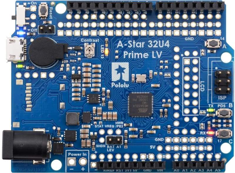 A-Star 32U4 Prime LV - Derivative Boards