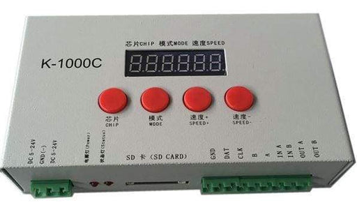Addressable Rgb Led Controller - K-1000C With Sd Card - Other