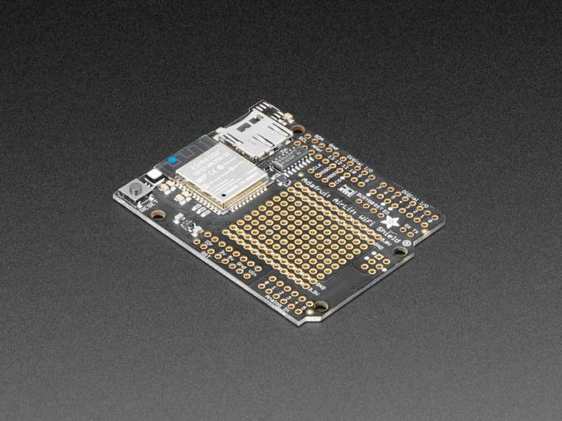 AirLift Shield - ESP32 WiFi Co-Processor (ID:4285) - WiFi