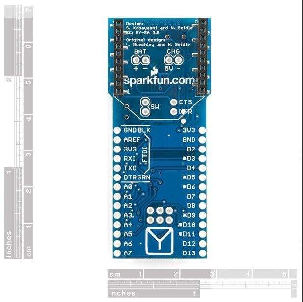 Arduino Fio (Dev-10116) - Original Boards