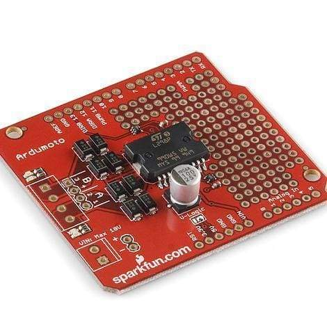 Ardumoto - Motor Driver Shield (Dev-14129) - Shields