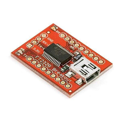 Breakout Board For Ft232Rl Usb To Serial (Bob-12731) - Breakout Boards