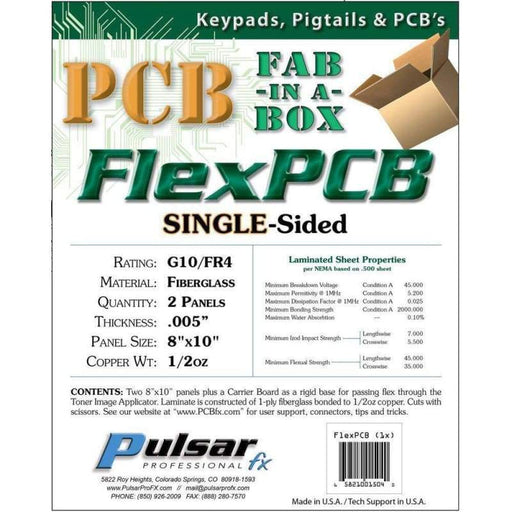 Flexpcb Single Sided - Pcb Fabrication