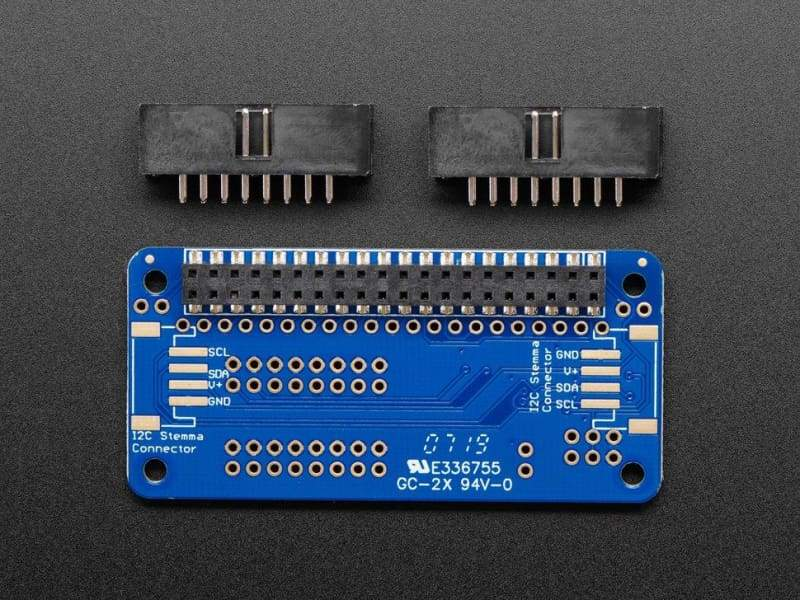 GPIO Expander Bonnet - 16 Additional I/O over I2C (ID:4132) - Accessories and Breakout Boards