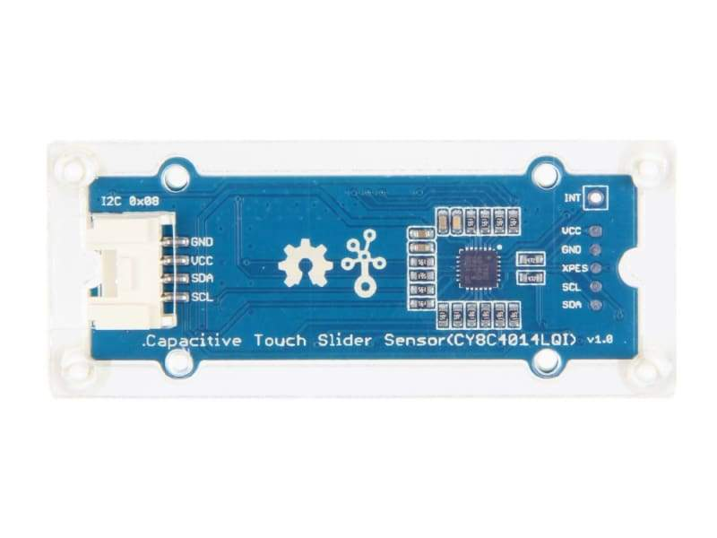 Grove - Capacitive Touch Slide Sensor (Cy8C4014Lqi) - Touch
