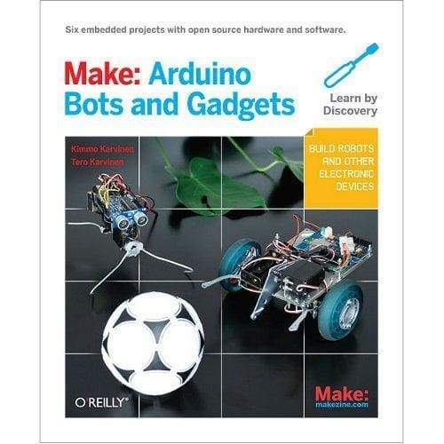 Make: Arduino Bots and Gadgets - Books