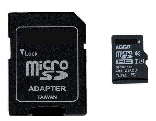 Micro Sd Memory Card 16Gb Class 10 With Adapter - Accessories And Breakout Boards