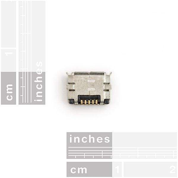 Micro Usb Connector - Surface Mount - Connectors