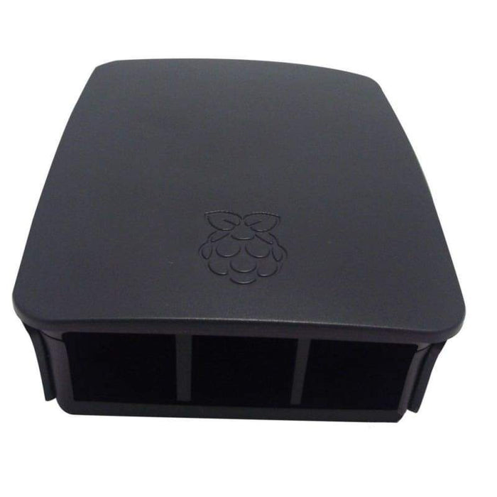 Official Case for Raspberry Pi 3 Model B by Pi Foundation - Black & Grey - Raspberry Pi Enclosures