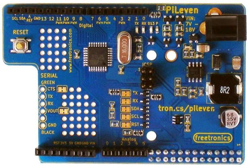 Pileven Arduino Compatible Expansion For Raspberry Pi - Accessories And Breakout Boards