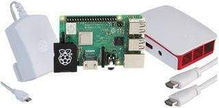 Raspberry Pi 3 B+ Official Hdmi Starter Kit - White - Raspberry Pi Kits
