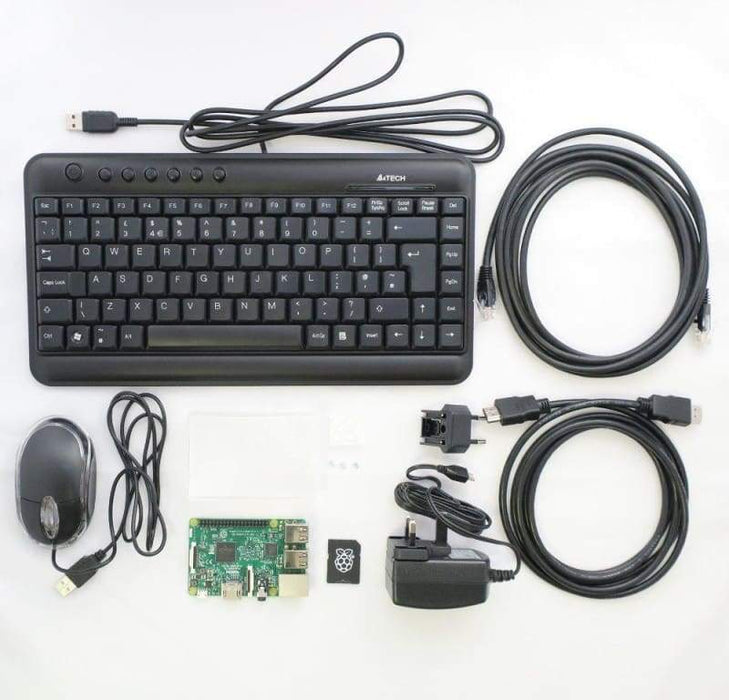 Raspberry Pi 3 Model B+ Deluxe Kit - Raspberry Pi Kits