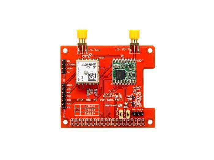 Raspberry Pi Lora/gps Hat - Supports 868M Frequency - Gps