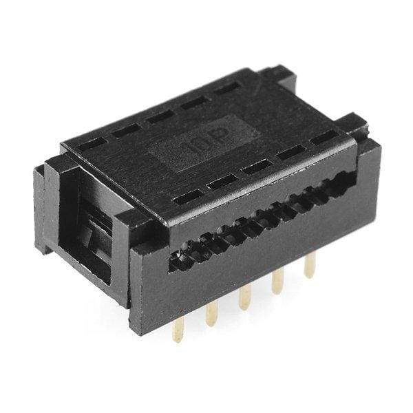 Ribbon Crimp Connector - Breadboard Friendly (2X5 Female) - Connectors