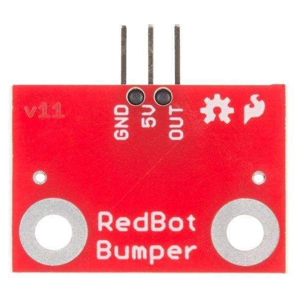 Robot Mechanical Bumper Sensor (SEN-11999) - Hardware
