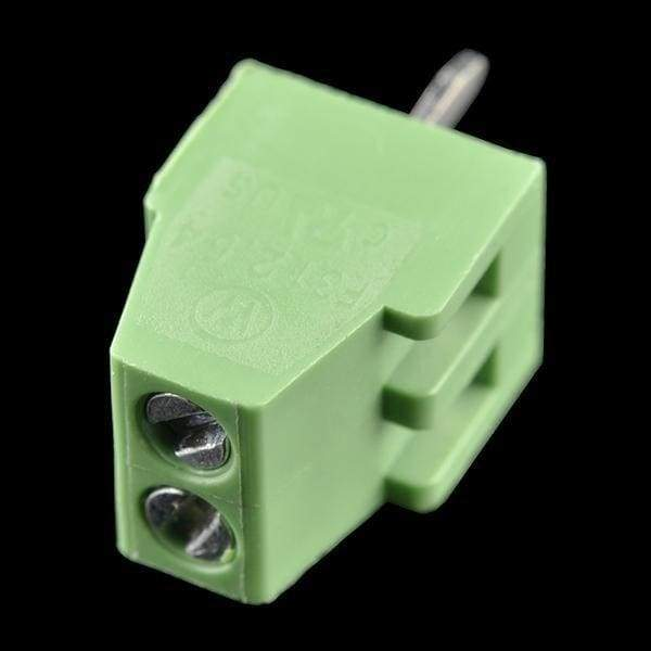 Screw Terminal Block - 2.54Mm Pitch (2-Pin) - Connectors