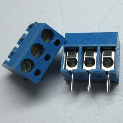 Screw Terminal Block - 3.5Mm Pitch (3-Pin) - Connectors