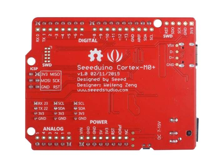 Seeeduino Cortex-M0+ - Dev Boards
