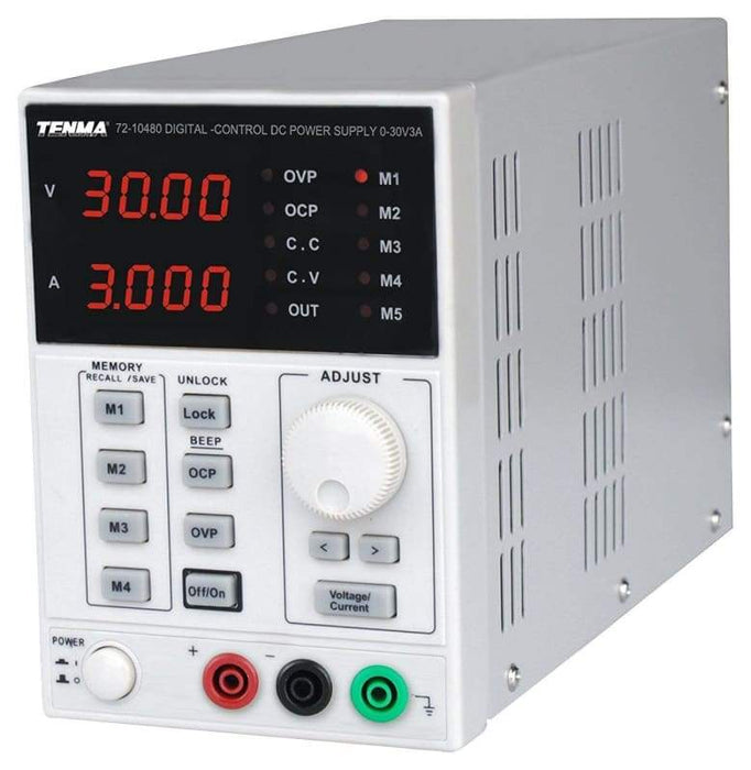 Single Output Dc Bench Power Supply 0-30V / 0-3A - Power