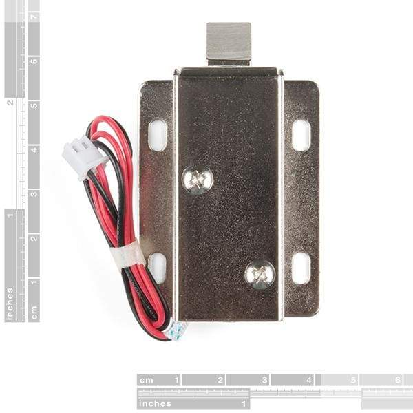 Solenoid - 12V (Latch / Lock) (ROB-15324) - Motors