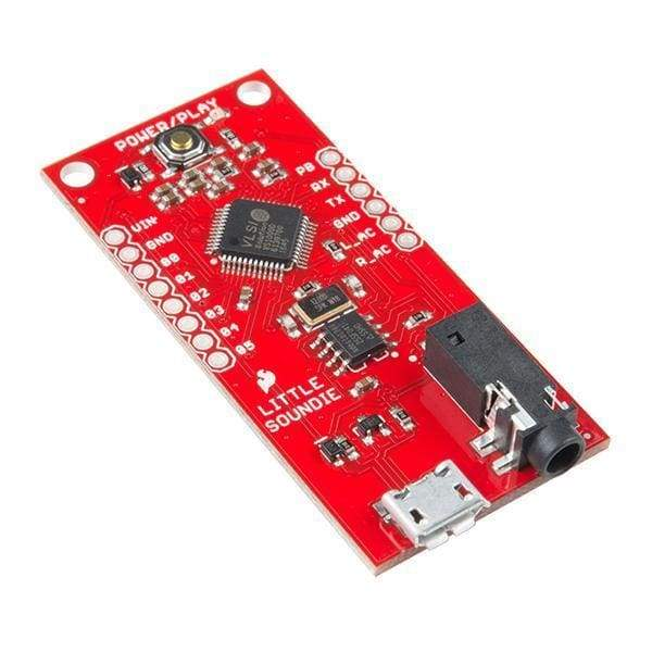 Sparkfun Little Soundie Audio Player (Dev-14006) - Audio