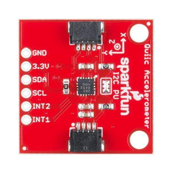 Sparkfun Triple Axis Accelerometer Breakout - Mma8452Q (Qwiic) (Sen-14587) - Acceleration