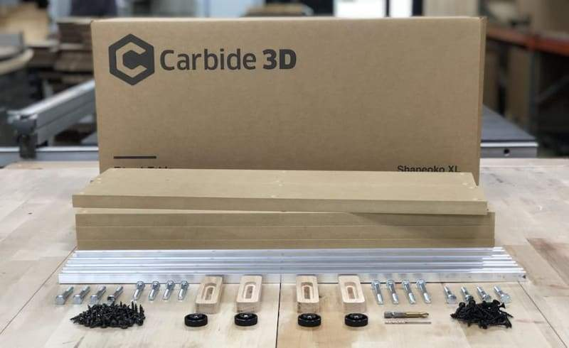 T-Track and Clamp Kit - For Carbide3D Shapeoko - Standard - CNC