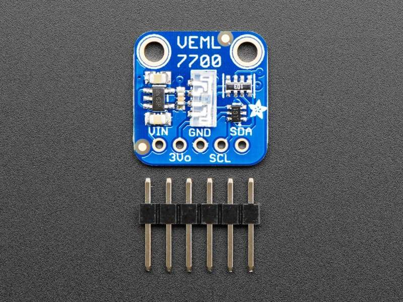 VEML7700 Lux Sensor - I2C Light Sensor (ID:4262) - Visible Light