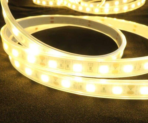 White Analogue 4 Metre LED Strip - 60 LED/m Warm White - Weatherproof - LEDs
