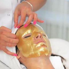 Face Masks with Gold and Natural Collagen Inventia - 3 masks