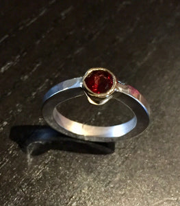 A Red Rose Ring