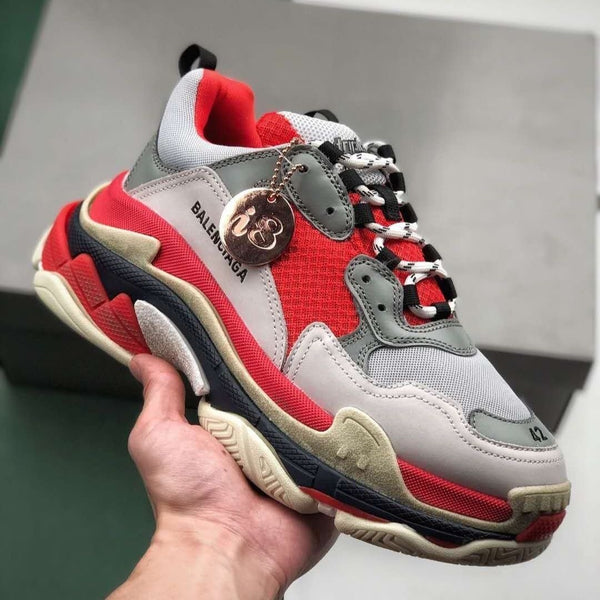 Balenciaga Triple S #2019SS 'Red/White'