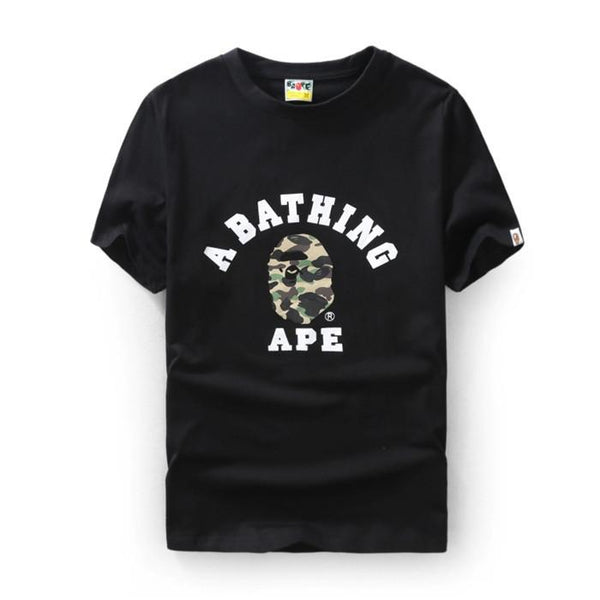 3c9a823c A Bathing Ape ABC Camo College T-Shirt