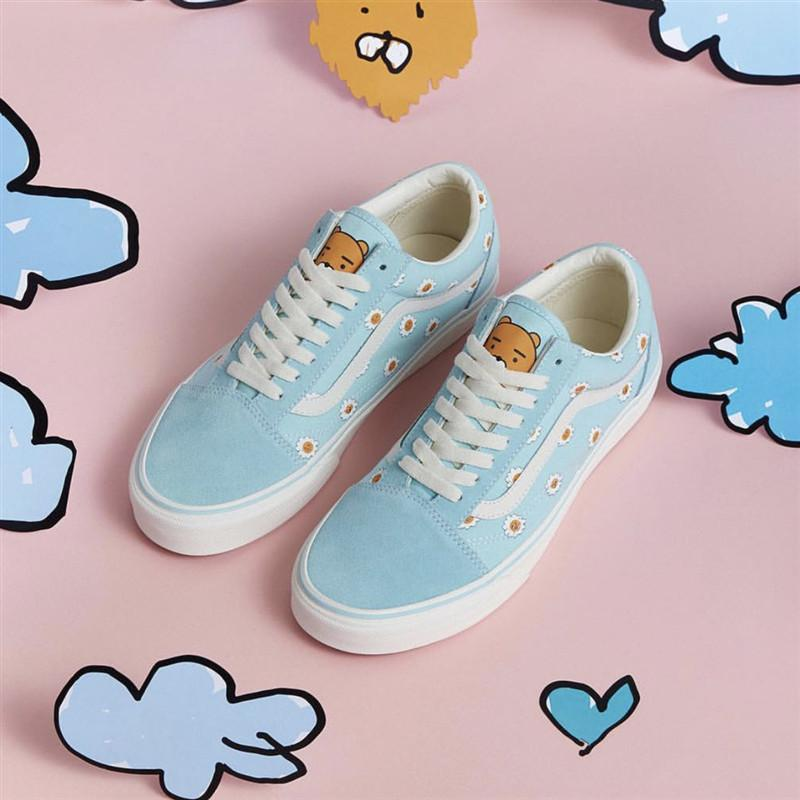"Vans x Kakao Friends x Hyunye ""Blue/White"""
