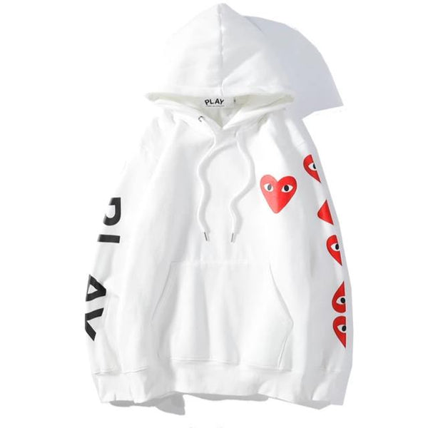 Comme Des Garcons Play 19fw 04 Hoodie