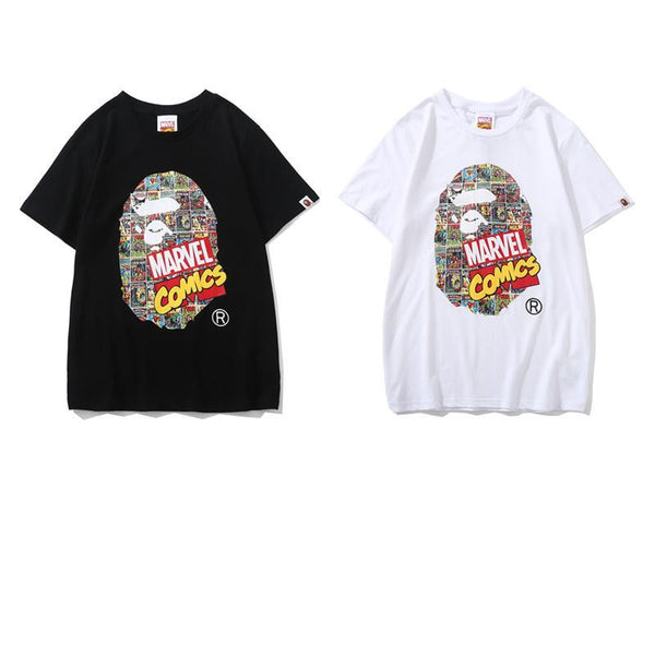 A Bathing Ape x Marvel 2019ss 02 T-Shirt