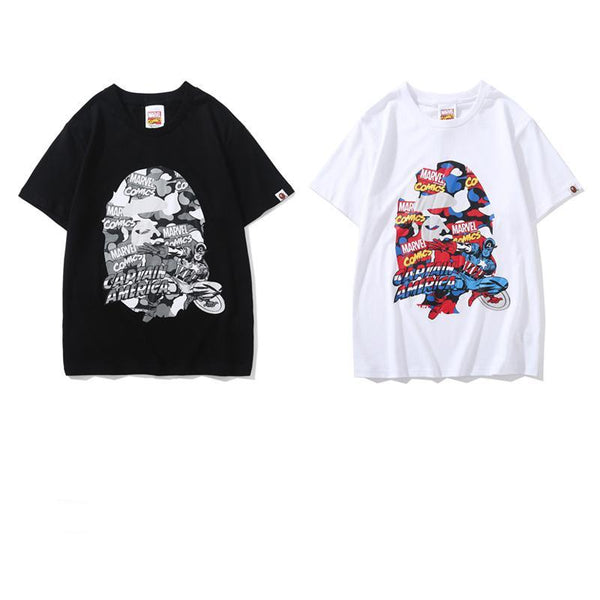 A Bathing Ape x Marvel 2019ss 04 T-Shirt
