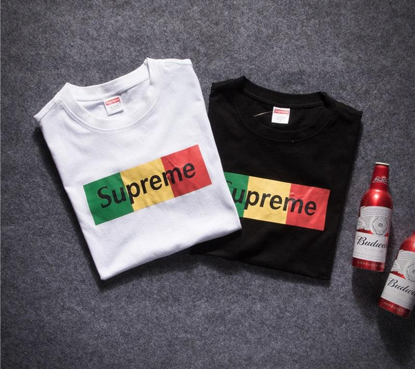 "Supreme "" Logo Box Color Traffic Light""  T-Shirt"